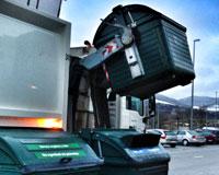 Así es la basura de los vecinos de Sarriguren