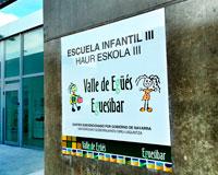 La Escuela Infantil municipal de Sarriguren no absorbe toda la demanda para el próximo curso