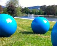 La Feria de las Esferas llega mañana a Sarriguren
