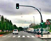 Nuevos semáforos y mejoras de iluminación llegarán a Sarriguren y Erripagaña