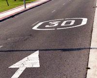 En marcha más medidas para mejorar la seguridad vial en Sarriguren