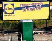 El supermercado Lidl de la entrada de Sarriguren abrirá sus puertas en septiembre