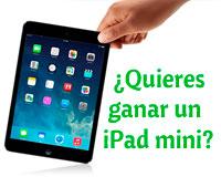 Lista de participantes para el sorteo de un iPad mini en Vivir en Sarriguren