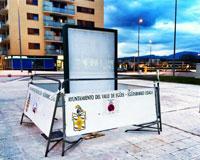 Sarriguren ofrecerá publicidad a través de los MUPIS de las calles