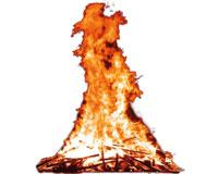 El próximo lunes se celebran las hogueras de San Juan en Sarriguren
