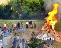 El próximo martes se celebran las hogueras de San Juan en Sarriguren