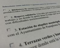 Los vecinos de Sarriguren ya pueden votar las propuestas de la 2ª edición de los presupuestos participativos