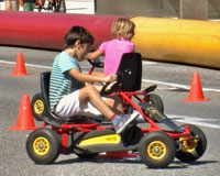 """El """"Día sin coche"""" fue un gran éxito en Sarriguren"""
