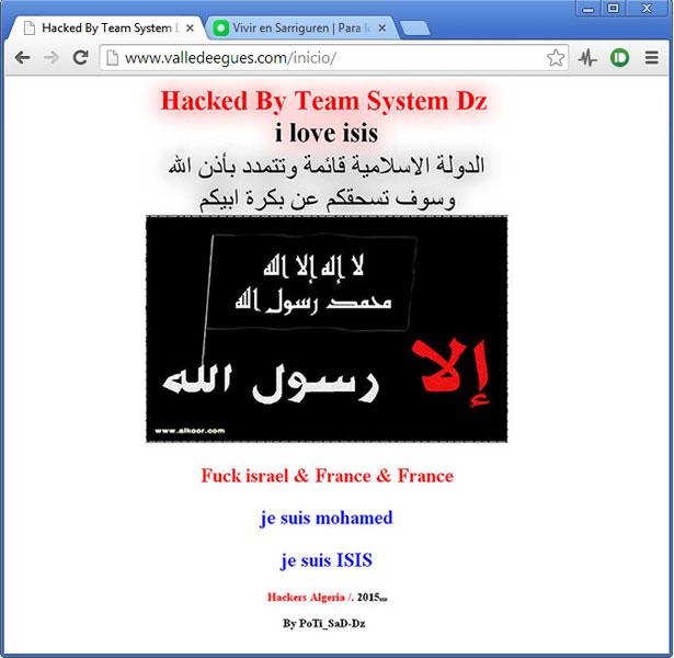web_ayuntamiento_hackeada_navegador