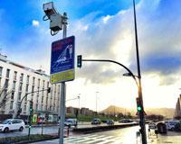 """Dos nuevos semáforos con """"foto-rojo"""" vigilan a los conductores en Sarriguren"""