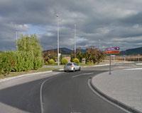 Cortado desde hoy el tráfico de salida de Sarriguren por la avenida de la Unión Europea