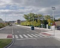 Cortes en la circulación en la avenida de la Unión Europea de Sarriguren