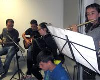 "La Escuela de Música de Sarriguren celebra su primer ""musical"""