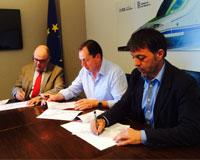Firmado el convenio para el nuevo acceso y salida de Sarriguren desde la ronda este