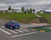 Un puente peatonal para unir la Ciudad de la Innovación de Sarriguren con Erripagaña