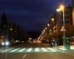 Se iluminan los pasos de cebra con LED y se instalarán nuevos semáforos en Sarriguren y Erripagaña.