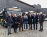 La Línea 18 de Sarriguren incorpora cuatro nuevos autobuses articulados