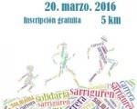La II Carrera Solidaria de Sarriguren se celebrará el 20 de marzo