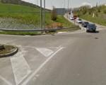 Un ciclista herido en Sarriguren al chocar contra un coche