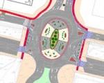 Se remodelará en Sarriguren la rotonda de salida de la avenida de la Unión Europea