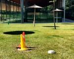 Nuevas zonas de sombra en la Ciudad Deportiva de Sarriguren