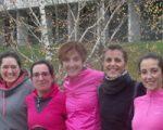 Éxito de participación en la jornada de mujeres que corren celebrada en Sarriguren