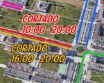 Estas son las calles de Sarriguren que se cortarán durante la celebración de la Vuelta al País Vasco