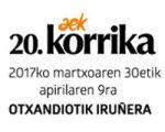La Korrika recorrerá las calles de Sarriguren este domingo