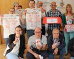 Recibidos en el Ayuntamiento los usuarios del Centro Félix Garrido de Sarriguren