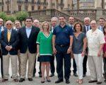 Una delegación empresarial de Texas visita Sarriguren interesada en el sector de las renovables