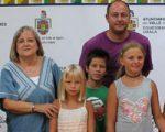 Recepción oficial en Sarriguren a los niños ucranianos acogidos este verano