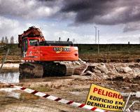 Ya han comenzado las obras para el nuevo Lidl junto a Sarriguren