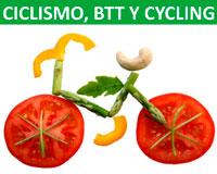Charla sobre alimentación para la práctica de ciclismo, BTT y cycling en Sarriguren