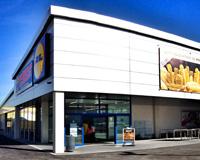 La apertura del supermercado Lidl de la entrada de Sarriguren se convierte en un éxito