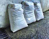 Reparto del sal en Sarriguren hasta el próximo viernes