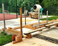 Establecidas las condiciones para el uso de los asadores de la Ciudad Deportiva de Sarriguren