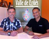 """Firmado en Sarriguren un convenio con la asociación """"El ABC que salva vidas"""""""