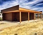 Los huertos urbanos de Sarriguren ya cuentan con aseos para sus usuarios