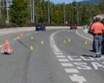 Atropellado un ciclista en un acceso a Sarriguren por un vehículo que se dio a la fuga